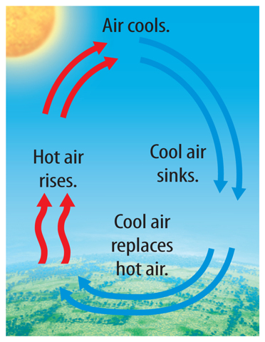 Warm-Up: Why does hot air rise and cold air fall downward ...